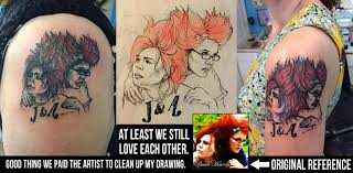 Our Artist Really Nailed These Friendship Tattoos At Least Its A Funny Story
