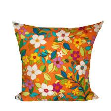 Decorative Lumbar Throw Pillows by Interior Navy Blue Pillows Orange Print Pillows Decorative