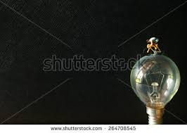 popular free fashion of tungsten light bulb and figure cycling