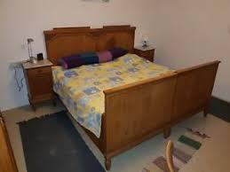 details zu schlafzimmer 100 jahre alt antik generall überholt bett schrank nachtische