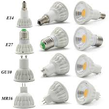 dimmable gu10 mr16 e27 e14 cob led spotlight bulbs l 5w energy