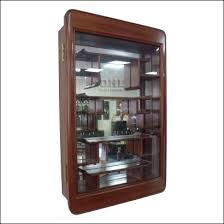 Chinese Rosewood Curio Display Cabinet In Plain Ming Style