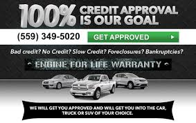 100 Truck Financing For Bad Credit Auto In Fresno CA No Auto Loan Near Me