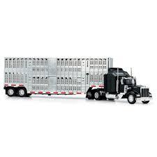 100 Toy Kenworth Trucks 143 DC W900 Pot Belly Livestock Trailer