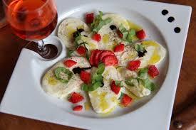 jeux de cuisine de aux fraises carpaccio de mozzarella aux fraises et basilic cuisine