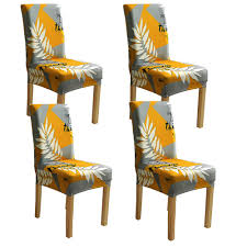 Amazon.com: BJYHIYH Yellow And Gray Chair Covers Stretch ... Sure Fit Ballad Bouquet Wing Chair Slipcover Ding Room Armchair Slipcovers Kitchen Interiors Subrtex Printed Leaf Stretchable Ding Room Yellow 2pcs Ektorp Tullsta Chair Cover Removable Seat Graffiti Pattern Stretch Cover 6pcs Spandex High Back Home Elastic Protector Red Black Gray Blue Gold Coffee Fortune Fabric Washable Slipcovers Set Of 4 Bright Eaging Accent And Ottoman Recling Queen Anne Wingback History Covers Best Stretchy Living Club For Shaped Fniture