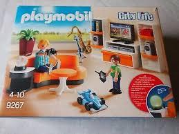 playmobil city wohnzimmer 9267puppenhaus möbel für