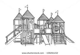 Children Playground Clipart Black And White Bkwwxc