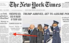 Even Worse This Report Continues New York Times Reporter Michael S Schmidt Who Wrote The 20 January Article Proving That Trump And His Aides Were Having
