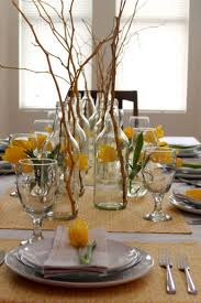 Dining Room Centerpiece Ideas Candles by Modern Dining Room Centerpiece Window Glass Round Crystal
