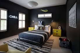 Tips Of Twin Boy Bedroom Ideas Modern Black Idea With Bed Frame Designed