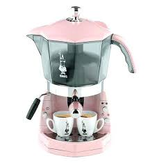 Italian Coffee Maker Bialetti Machines Pink Machine Parts