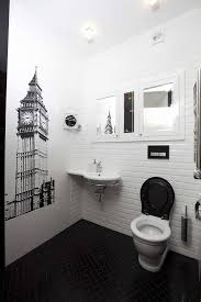 Bathroom Black And White Bathroom Greenwich Tower Wallpaper Wall ... How Bathroom Wallpaper Can Help You Reinvent This Boring Space 37 Amazing Small Hikucom 5 Designs Big Tree Pattern Wall Stickers Paper Peint 3d Create Faux Using Paint And A Stencil In My Own Style Mexican Evening Removable In 2019 Walls Wallpaper 67 Hd Nice Wallpapers For Bathrooms Ideas Wallpapersafari Is The Next Design Trend Seashell 30 Modern Colorful Designer Our Top Picks Best 17 Beautiful Coverings