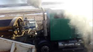 Cold Start Old Mack Truck Diesel - YouTube