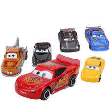 Disney Pixar Cars 3 7Pcs/set Lightning McQueen Jackson Storm Mack ...