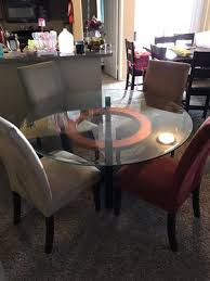 Glass Dining Table With 4 Chairs For Sale In Houston TX