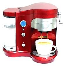 Red 4 Cup Coffee Maker Brushed Chrome Coffeemaker Free Looking For Makers Kitchenaid