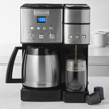 Cuisinart Coffee Center And Single Serve Brewer With Thermal Carafe