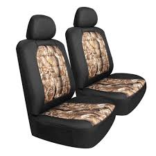 100 Camo Seat Covers For Trucks Pilot SC445CA Canvas For Front S 6 Piece Set