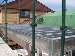 Residential Floor Joist Size by Boxspan Steel Joists For 2nd Storey Upper Floor Frames Spantec