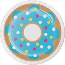 Illustration Rhshutterstockcom Cute Blue Donut Clipart Mascot