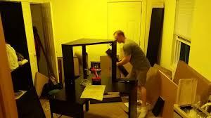 Ikea Micke Desk Assembly by Building The Micke Desk From Ikea Youtube