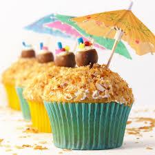 Pi±a Colada Cupcakes