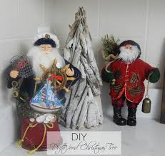 Driftwood Christmas Trees by Driftwood Christmas Tree Stylish Revamp
