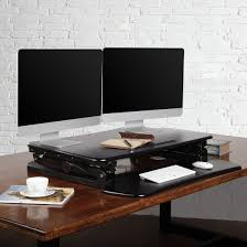 Dual Monitor Stand Up Desk by Flexispot Standing Desk Converter 35