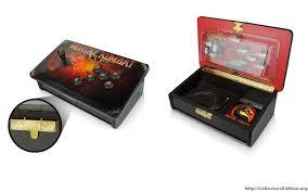 Mortal Kombat Arcade Cabinet Plans by Mortal Kombat Te Joystick Is The Real Deal Collectors Edition