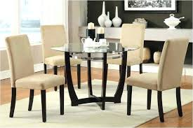 Glass Dining Room Chairs Cover For Table Special Set Awesome Kitchen