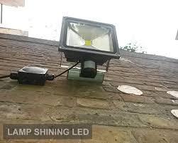 outdoor pir sensor led flood light wall light waterproof luminaire