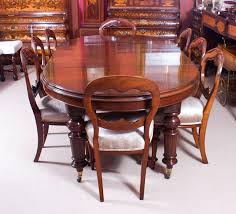 Oval Dining Room Table Century And Eight Antique Chairs For Sale At