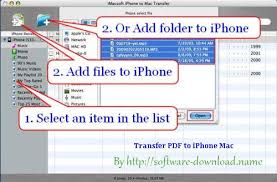 Move Pdf From Mac to iPhone 8 Transfer Pdf to iPhone From Mac