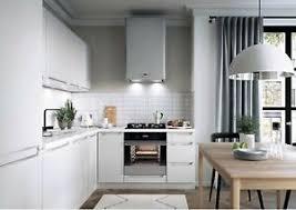 details zu l form küche schränke küchenzeile erweiterbar weiss matt fronten neu schnell