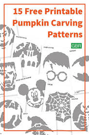 Harry Potter Pumpkin Carving Patterns Easy by Best 10 Pumpkin Carving Templates Free Ideas On Pinterest