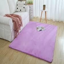 neue verschlüsselung verdickt kaninchen haar weich weiß teppich wohnzimmer schlafzimmer nacht kaffee tisch warme matte wohnzimmer dekoration