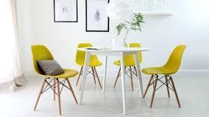 chaises de salle à manger design salle a manger style scandinave attrayant chaise de salle manger