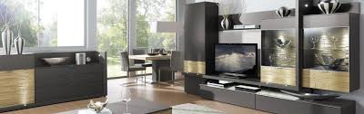 gwinner wohnzimmermöbel in hochglanz und holz bei möbel höffner