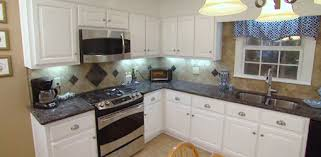 Remodeled Kitchen With New Cabinet Doors Appliances And Countertops