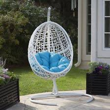 Hanging Chair Indoor Ebay by Patio Swing Egg Seater Chair Hanging Stand Hammock Wicker Outdoor