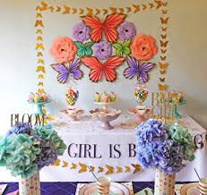 A Girl Is Blooming Spring Baby Shower On Karas Party Ideas