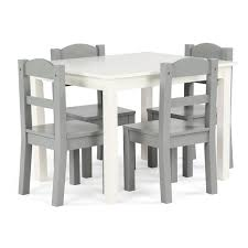 Springfield 5-Piece Wood Kids Table & Chairs Set In White ... Marvelous Distressed Wood Table And Chairs Wooden Chair Set Chair 45 Fabulous Toddler Fniture Shops In Vijayawada Guntur Nkawoo Childrens Deluxe And White White Table Chairs For Toddlers Minideckco Details About Kids Of 4 Learning Playing Colored Fun Games Children 3 Pc With Storage Max Lily Natural Kid Square Modern Extraordinary With Gypsy Art Craft 2 New Springfield 5piece Tot Tutors Friends Whitepinkpurple