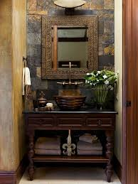 Unfinished Rustic Bathroom Vanities Naturally