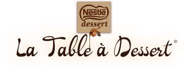 la table à dessert