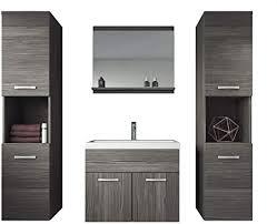 badplaats bv badezimmer badmöbel set montreal xl 60 cm waschbecken bodega unterschrank hochschrank waschtisch möbel