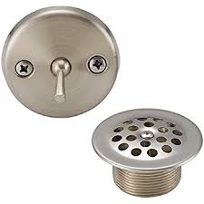bathtub trip lever wont stay bathtub drain how to convert bathtub drain lever to a lift and