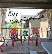 Vinyl Patio Curtains Outdoor by Diy Outdoor Curtains From Dropcloth Sweet Charli