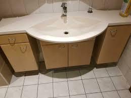 badezimmer möbel schränke mit waschbecken