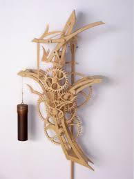 Free Scroll Saw Wooden Gear Clock Plans by 51 Best Wooden Gear Clocks Images On Pinterest Wooden Gears